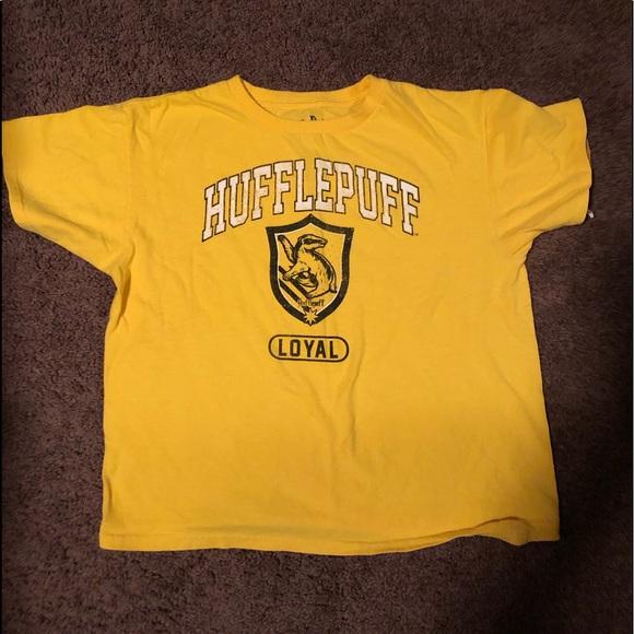 496813ad3 Warner Bros. Shirts & Tops | Harry Potter Yellow Loyalty Hufflepuff ...
